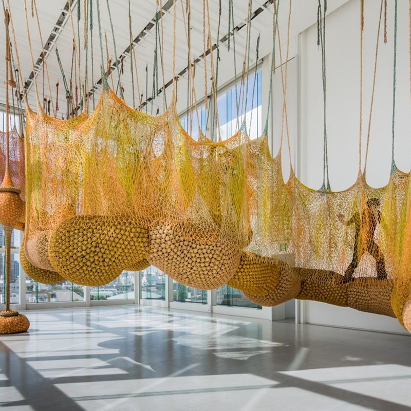 ERNESTO NETO - Animalplant yellow, 2013