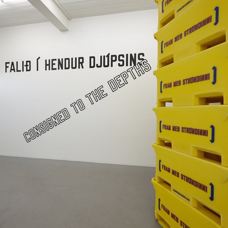 LAWRENCE WEINER ALONG THE SHORE